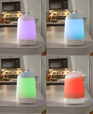 Spa Mist Diffuser Aromatherapy Essential Oil Vapor Room Vaporizer Electric LED