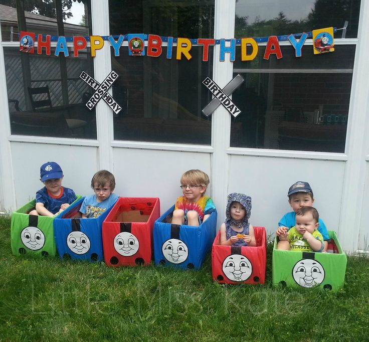Thomas The Train Engine and Friends Ride   In Toys - Perfect for a Train Party Games! - Little Miss Kate