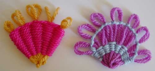 Flower Looms: Fan Shapes on Any Round Loom