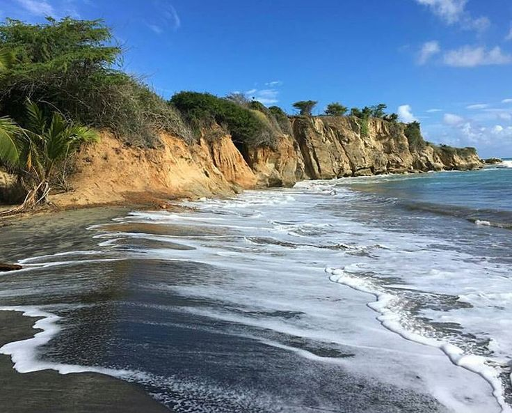 17 best images about im genes de mi isla del encanto for Black sand beach caribbean