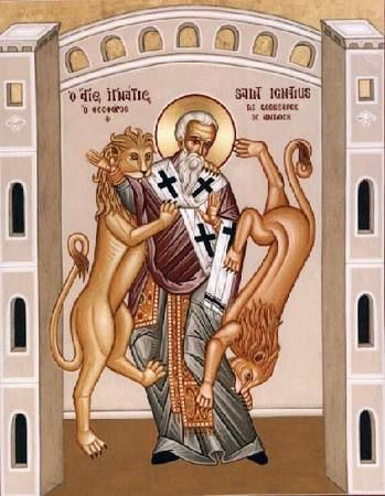 Ignatius of Antioch, The God-bearer