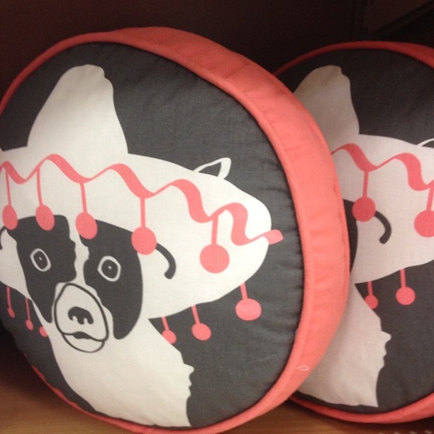 a pillow for Pep
