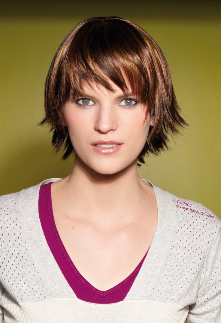 Cute Sporty Short Haircut Short Hair Wigs Short Wigs