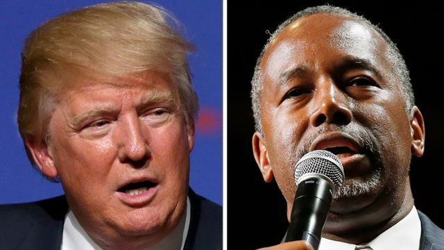 Carson vaults into virtual tie with Trump, Clinton slides in latest polls   Published September 15, 2015 ·FoxNews.com