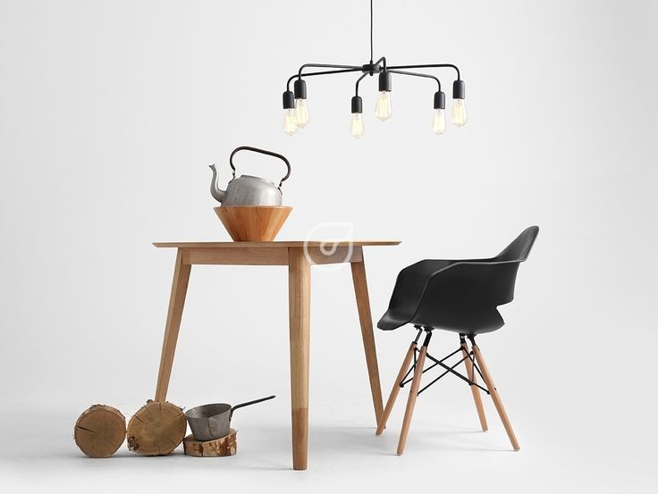 The Twigo lamp - looks like a spider, but does'nt bite! Black classy lamp.