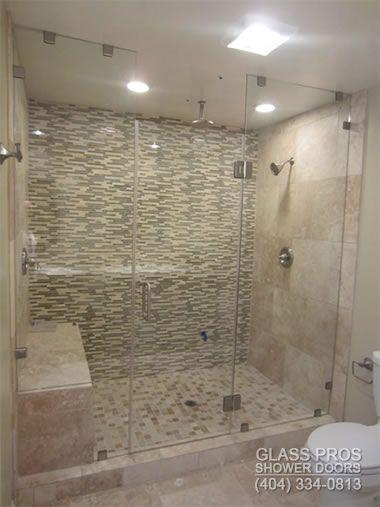 Frameless Shower Enclosures Canton GA | Glass Doors