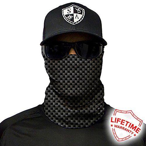 Salt Armour Face Mask Shield Protective Balaclava Alpha Defense (Carbon Fiber)