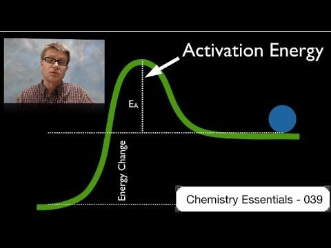 Activation Energy - In this video Paul Andersen explains how the activation energy is a measure of the amount of energy required for a chemical reaction to occur. Due to the collision theory the activation energy requires proper energy and orientation of the colliding molecules. The Maxwell-Boltzman distribution can be used to determine the number of particles above and below this point.
