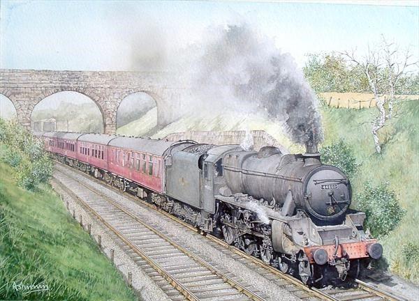 'black Five' Steam Locomotive