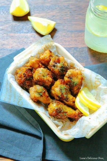 닭봉조림~ 허니버터치킨 만들기 by 루나의 맛있는 오...