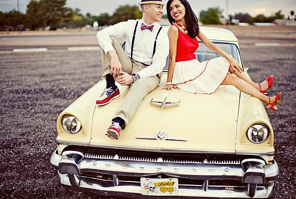 Gallery of the Day : wedding features 12882engagement Vintage 50 Sinspired 1950 Sresize.jpg