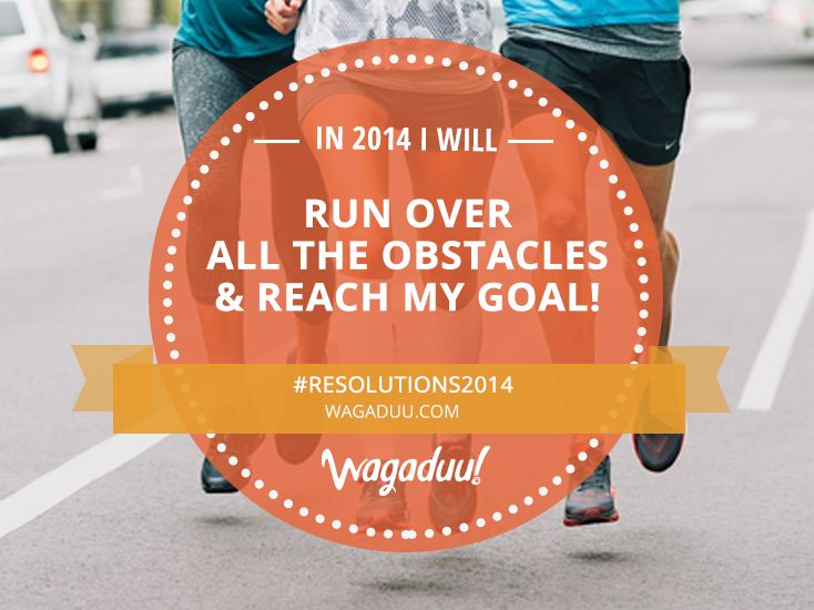 Make a new year's resolution and this time achieve it no matter what the cost is!  #Resolutions2014 #running #marathon