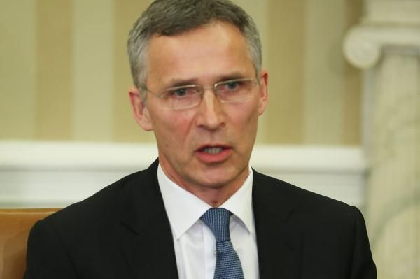 U.S. President Donald Trump and NATO Secretary-General Jens Stoltenberg are expected to hold a joint press conference Wednesday afternoon.