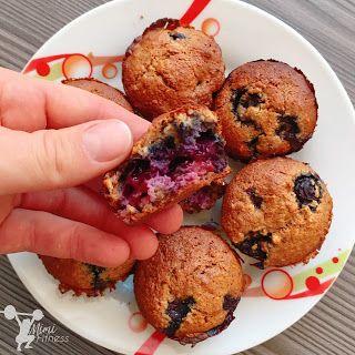 Mandulavajas-áfonyás muffin