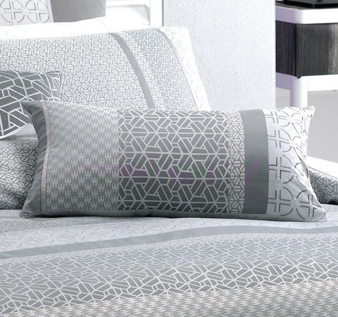Deco Takara 30x60cm Filled Cushion Charcoal