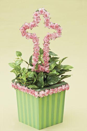 Recuerdos con flores para primera comunión, parte