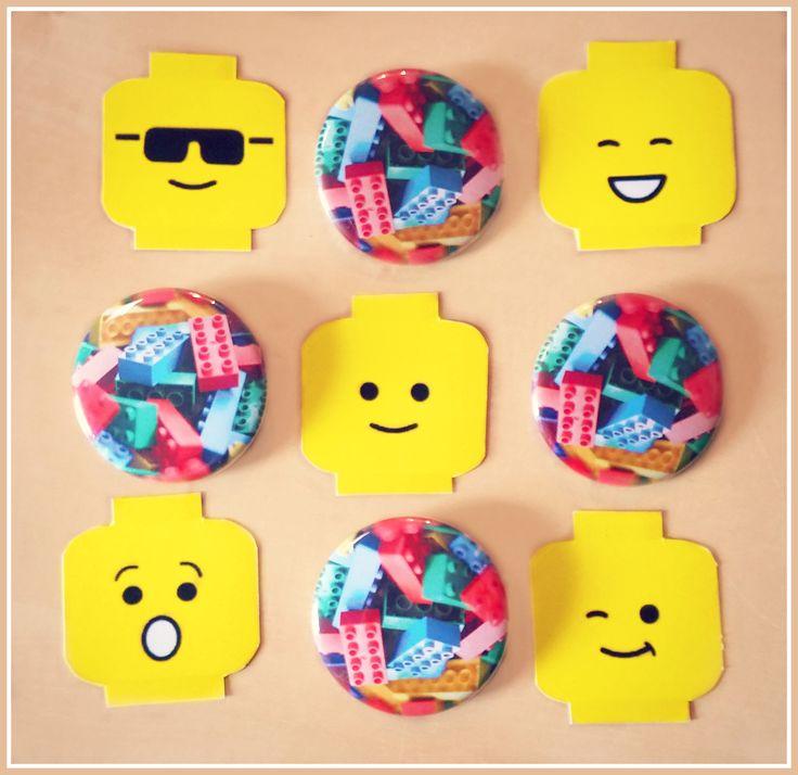 Stampe a colori di questi piccoli personaggi LEGO. piccoli dettagli di colore con cui abbellire la casa del festeggiato!