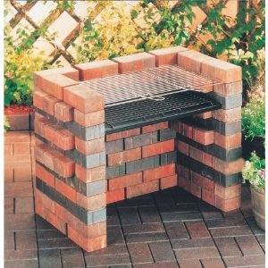 Landmann - DIY Barbecue Grill - Charcoal Grid, Ash Tray - 6-8 People