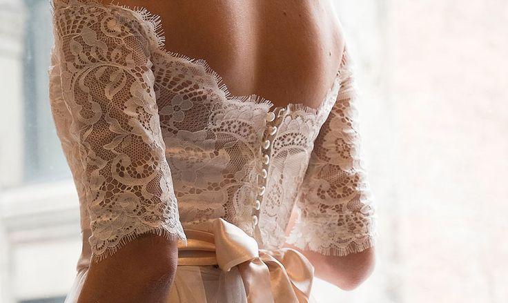 Montreal bridal fashion designer to the alternative bride. Wedding separates -