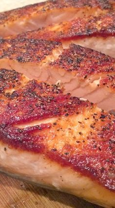 Oven Baked Salmon Fillets #oven #salmon