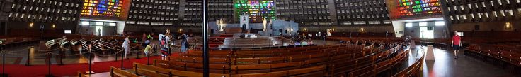 Interior Panorama Rio de Janeiro Cathedral Sao Sebastiao - Rio de Janeiro Cathedral - Wikipedia
