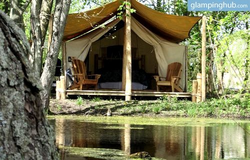 Staycation Ontario | Luxury Safari tents Canada | glamping tents- Dunnville, ON