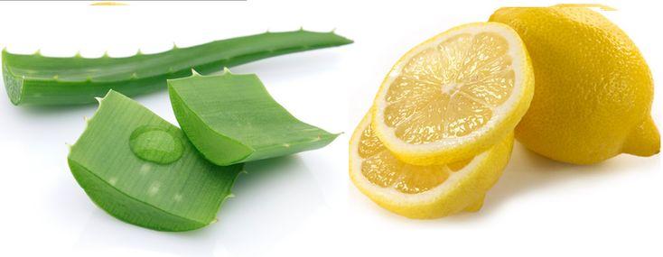 Lemon and Aloe Vera Face Pack for summer