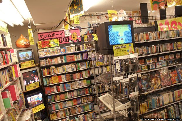 Super Potato Retro Game Store Tokyo Akihabara