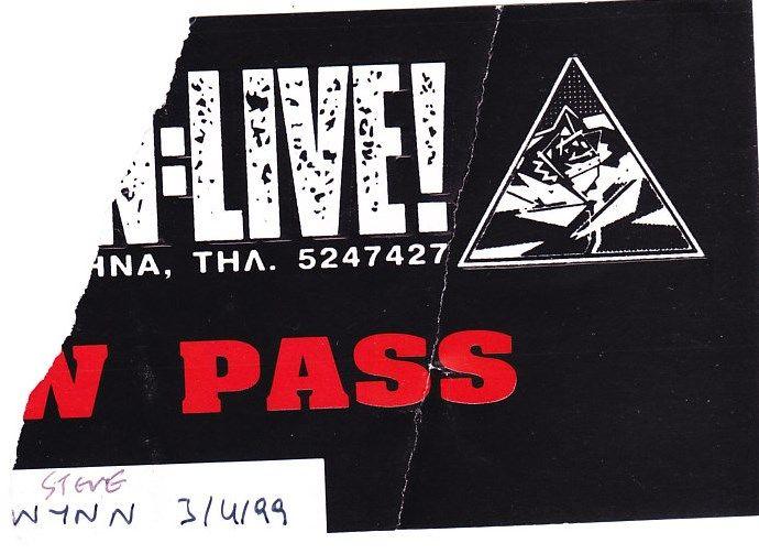 STEVE WYNN 3-4-1999 RODON CLUB ATHENS