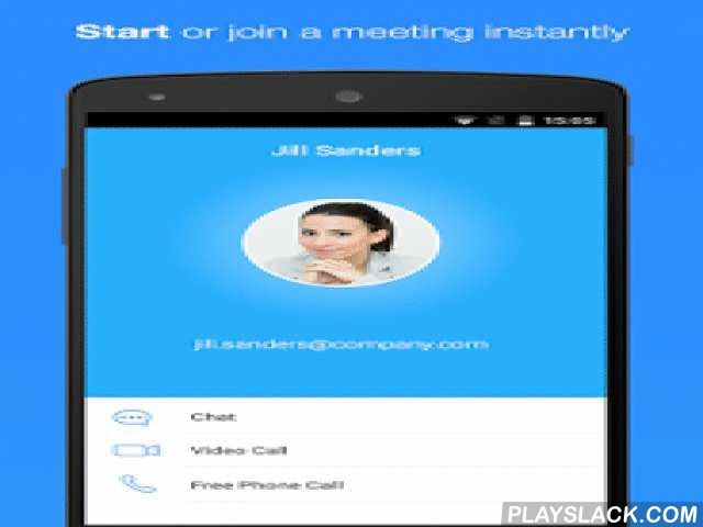 "ZOOM Cloud Meetings  Android App - playslack.com ,  Stay connected wherever you go – start or join a 50-person meeting with crystal-clear, face-to-face video, high quality screen sharing, and instant messaging – for free! Award winning Zoom brings video conferencing, online meetings and group messaging into one easy-to-use application. Zoom is used by over 170,000 customer organizations and is #1 in customer satisfaction. It's super easy: install the free Zoom app, click on ""Host a Meeting""…"