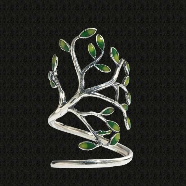 Natures Tree Silver Ring @ Fig & Wattle