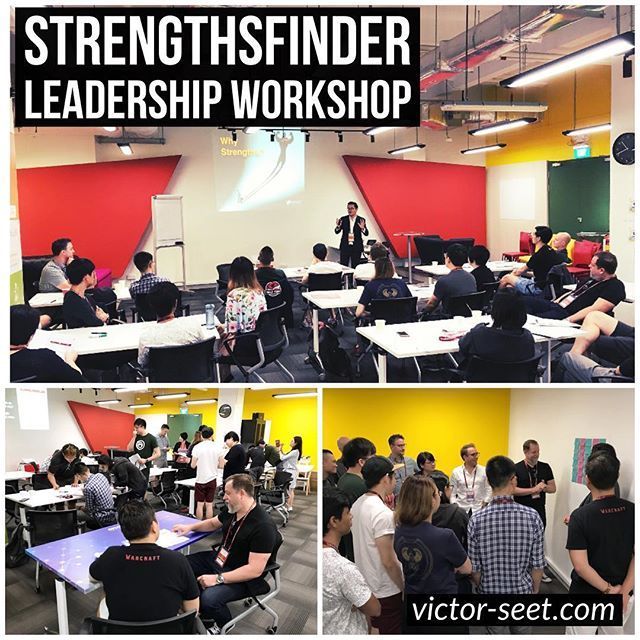 #StrengthsFinder (#CliftonStrengths) #Singapore #Leadership #Workshop #Program for #Ubisoft (Creator of the hugely popular video game - Assassins Creed). This workshop was part of a mentoring program and a first of a series of workshops with Ubisoft Singapore. This partnership between Strengths School and Ubisoft started in Dec 2017 and was led by the Ubisoft Human Resource Team. The workshop in December was jointly conducted between Jason and myself and held at JTC Ideation centre…