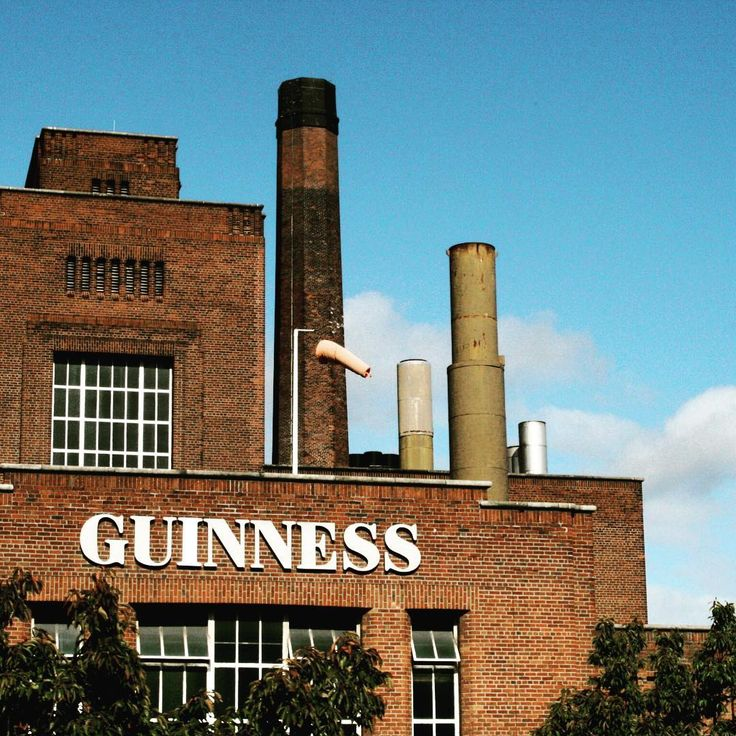 Touring the Guinness Factory