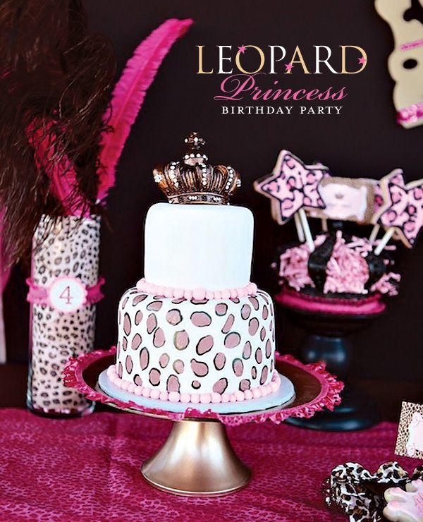 Leopard Princess birthday