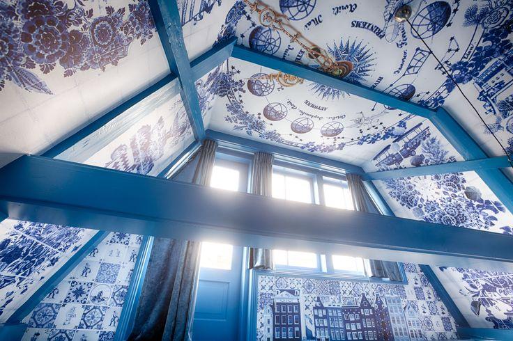 Delfts blauw  Delfts blue   Boutique hotel Amsterdam - Leliegracht 18