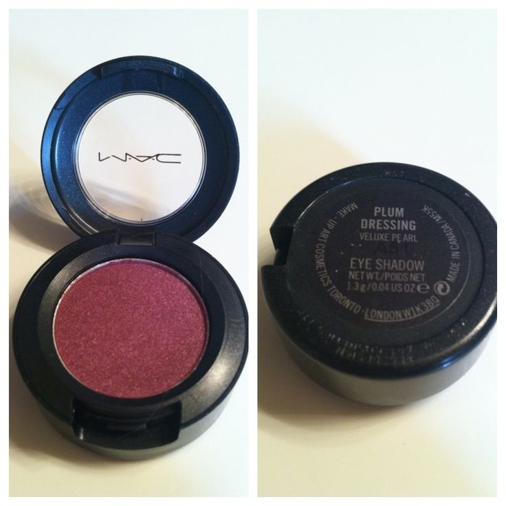 MAC Eyeshadow - Plum Dressing | Makeup | Pinterest