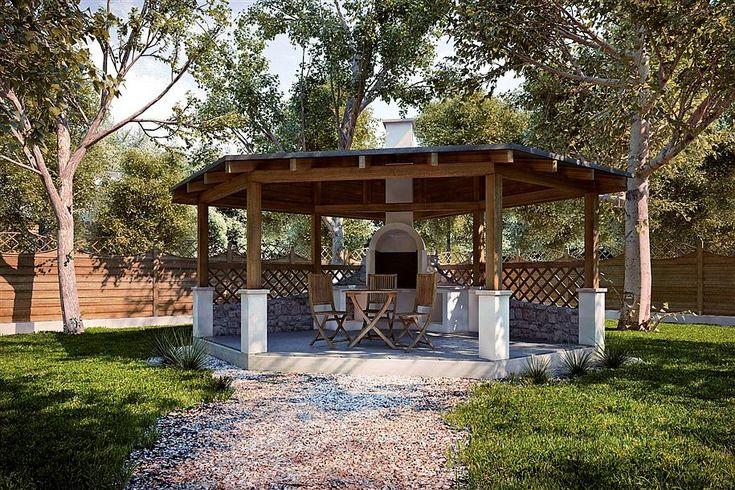 Zdjęcie projektu G157 - Altana ogrodowa PRA1202