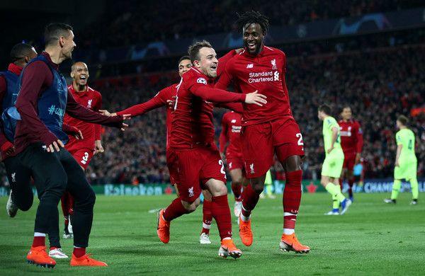 Xherdan Shaqiri Photos Photos Liverpool Vs Barcelona Uefa Champions League Semi Final Second Leg Uefa Champions League Champions League Semi Finals Champions League