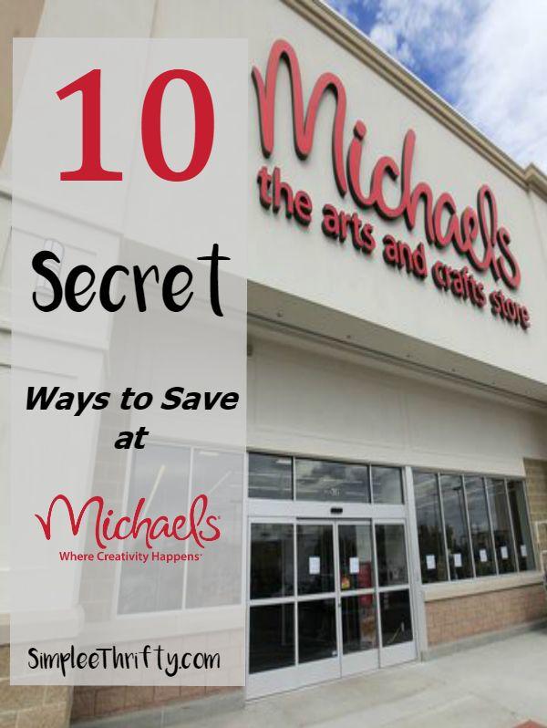 10 Secret Ways to Save at Michaels