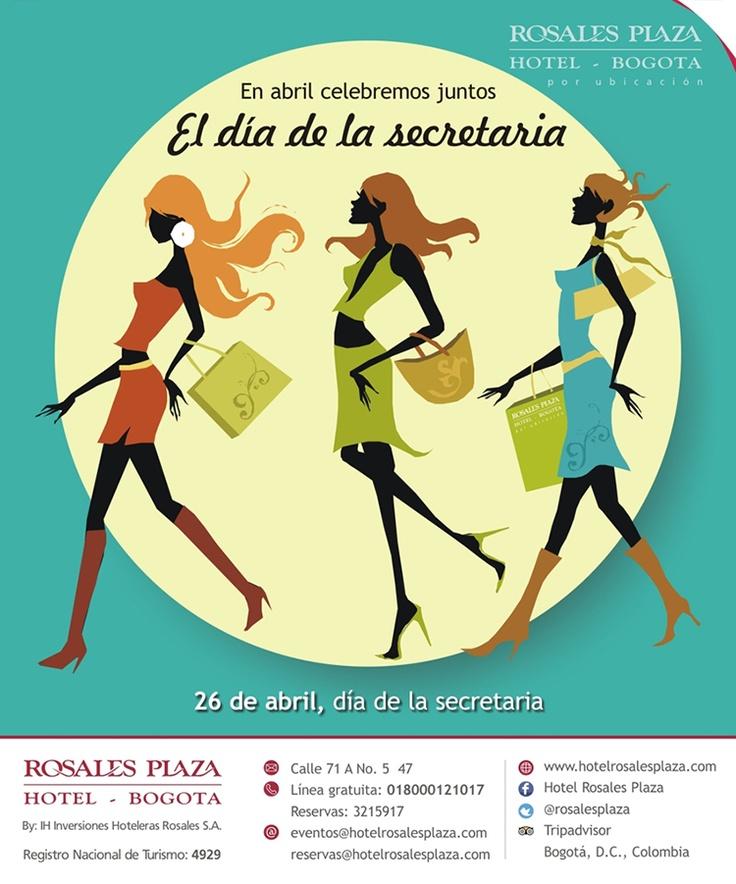 Celebra el día de la Secretaria en el Hotel Rosales Plaza