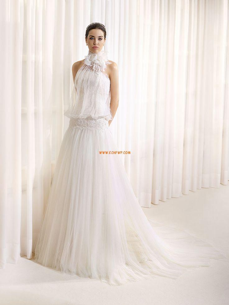 Délka dvorní Tyl Elegantní & moderní Designer Svatební šaty