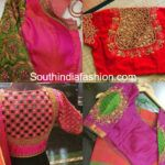 Cut Work Blouse Patterns For Silk Sarees