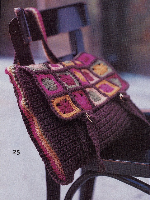 Crochet Messenger Bag Inspiration ❥ 4U // hf
