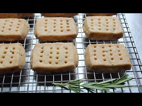 Food Wishes Video Recipes: Rosemary Shortbread Cookies – Not for Nothing