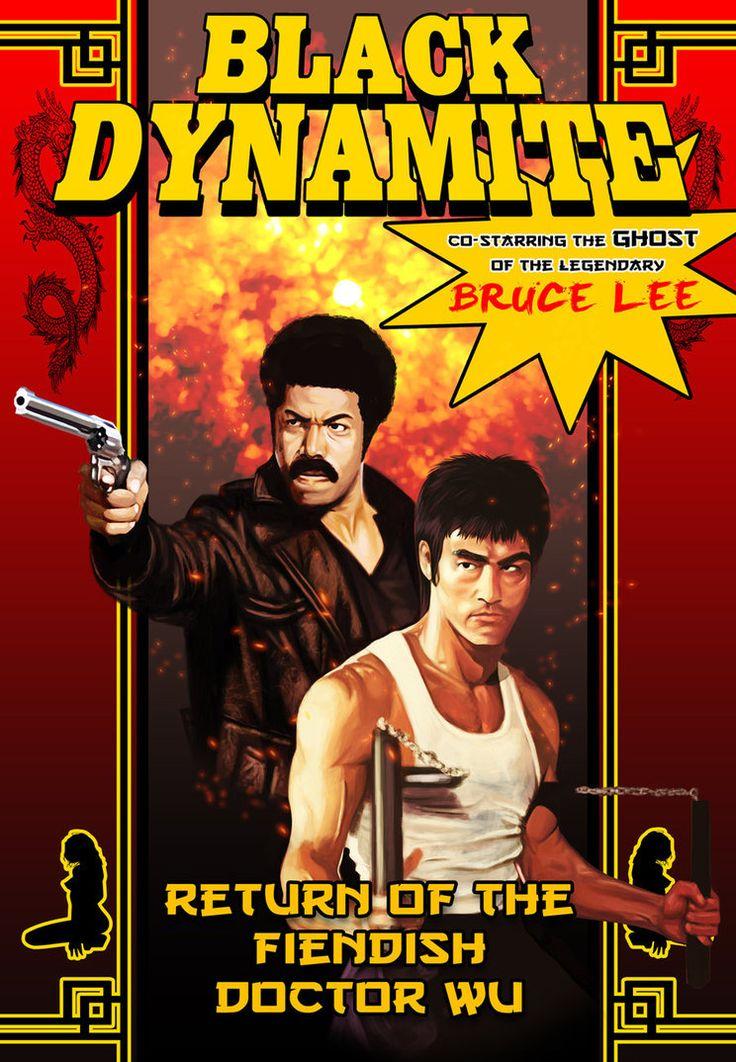 Black Dynamite Fan Art