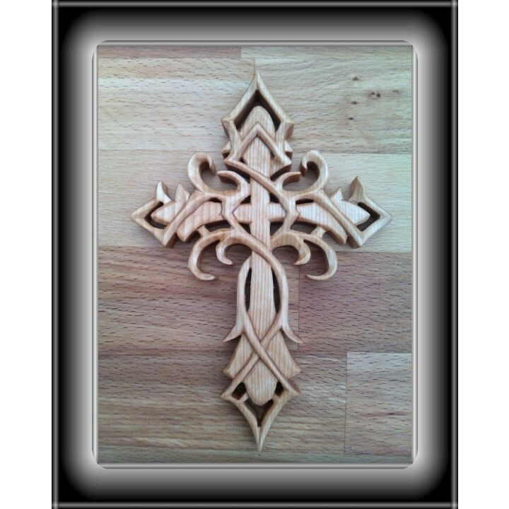 Trible cross s carving woodwork pinterest