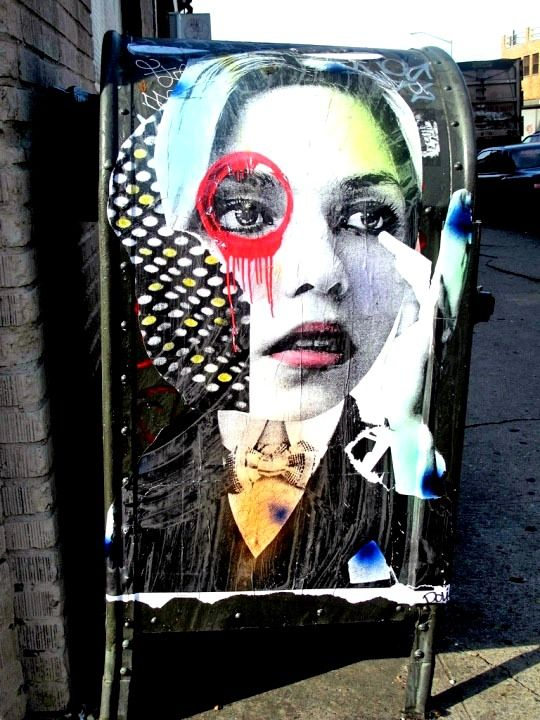 Dain street art in Bushwick Brooklyn NYC DAIN: The Artist behind NYCs Beguiling Portraits