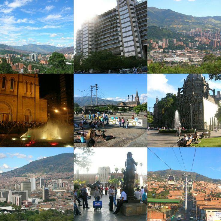 Diferentes ciudades de Colombia