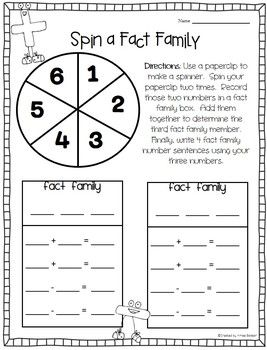 1000+ images about Teaching - Math: Fact Families on Pinterest