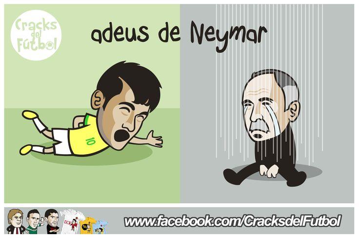 El adiós de Neymar